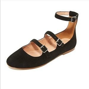 Madewell Elsa flat size 8 vguc mine are a brown